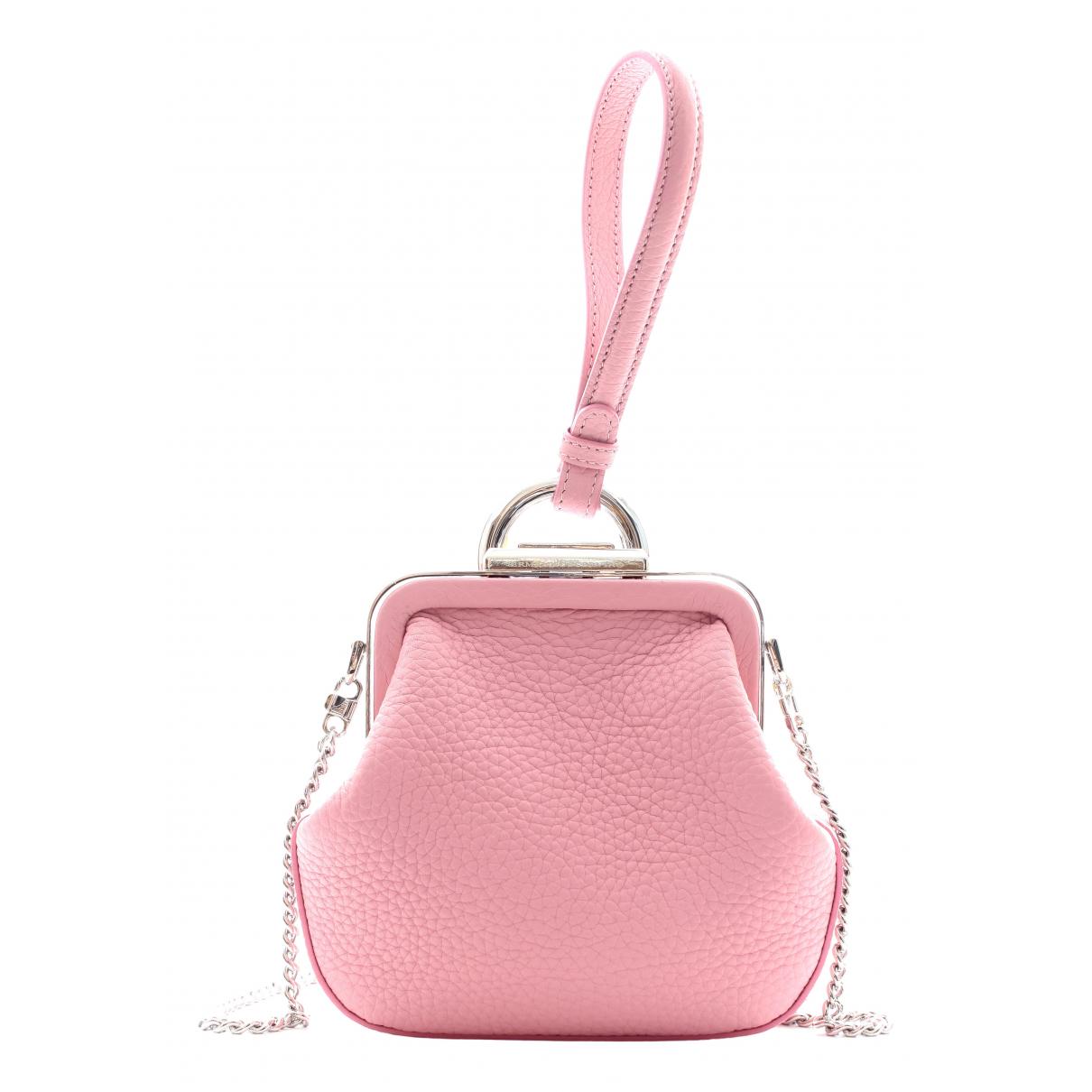 Ermanno Scervino N Pink Leather handbag for Women N