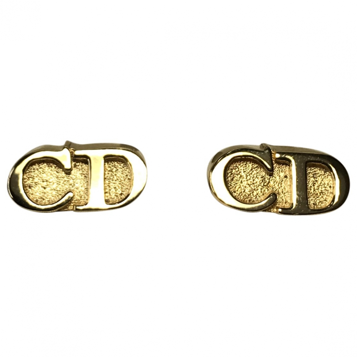 Christian Dior \N Gold Metal Cufflinks for Men \N