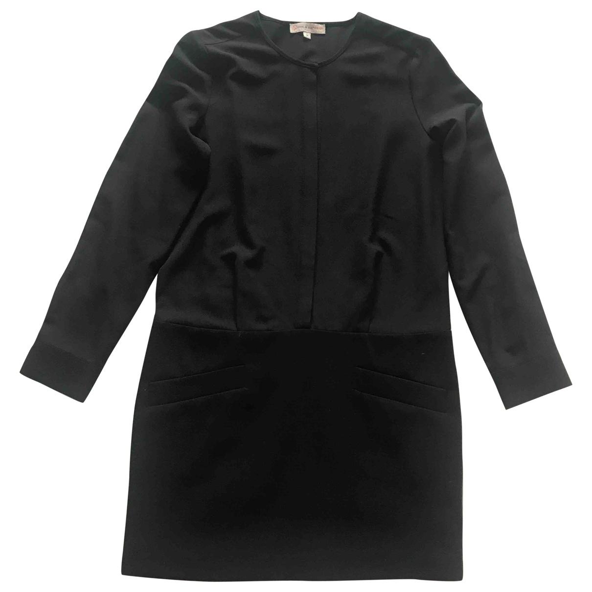 Paul & Joe Sister \N Kleid in  Schwarz Polyester
