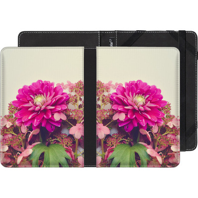 Sony Reader PRS-T3 eBook Reader Huelle - Pink Dahlia 2 von Joy StClaire