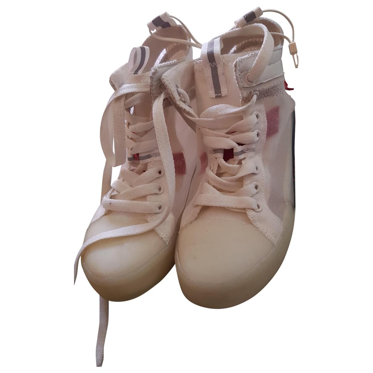 Zara \N Sneakers in Leinen