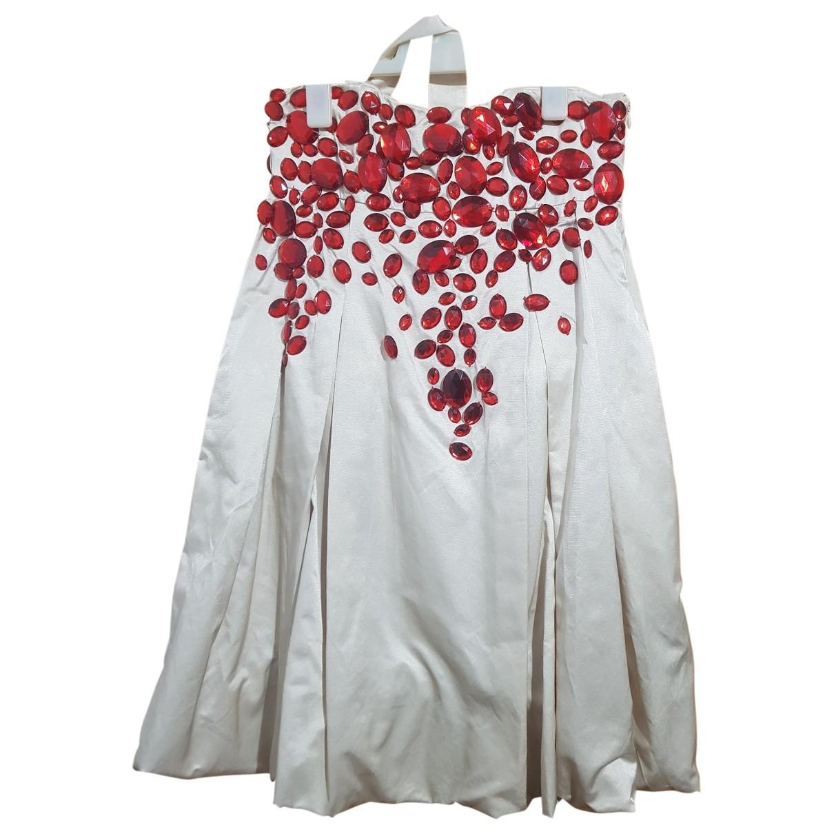 By Malene Birger - Robe   pour femme en coton - beige