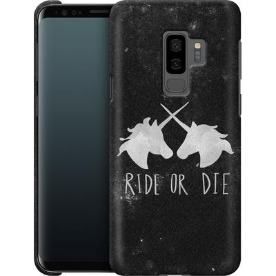 Samsung Galaxy S9 Plus Smartphone Huelle - Ride or Die von Leah Flores