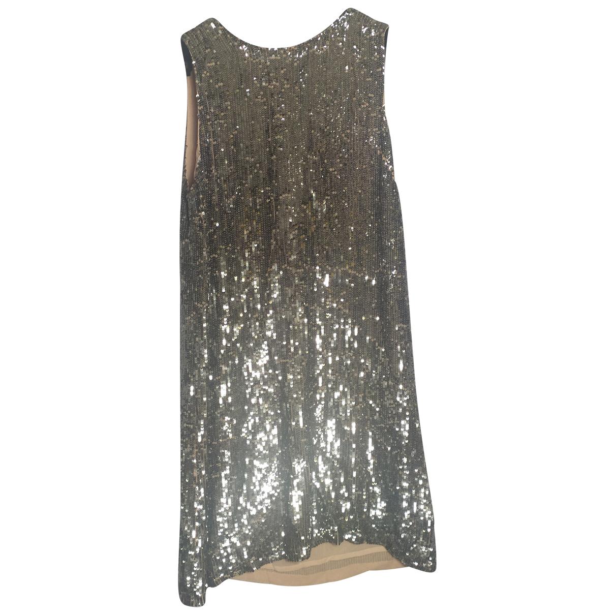 Parosh N Metallic dress for Women 42 IT