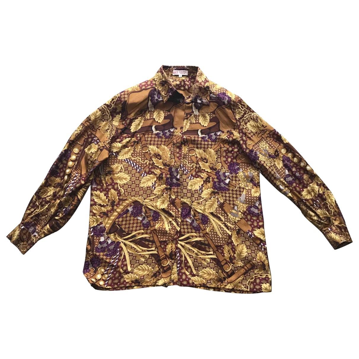 Loewe \N Multicolour Silk  top for Women M International