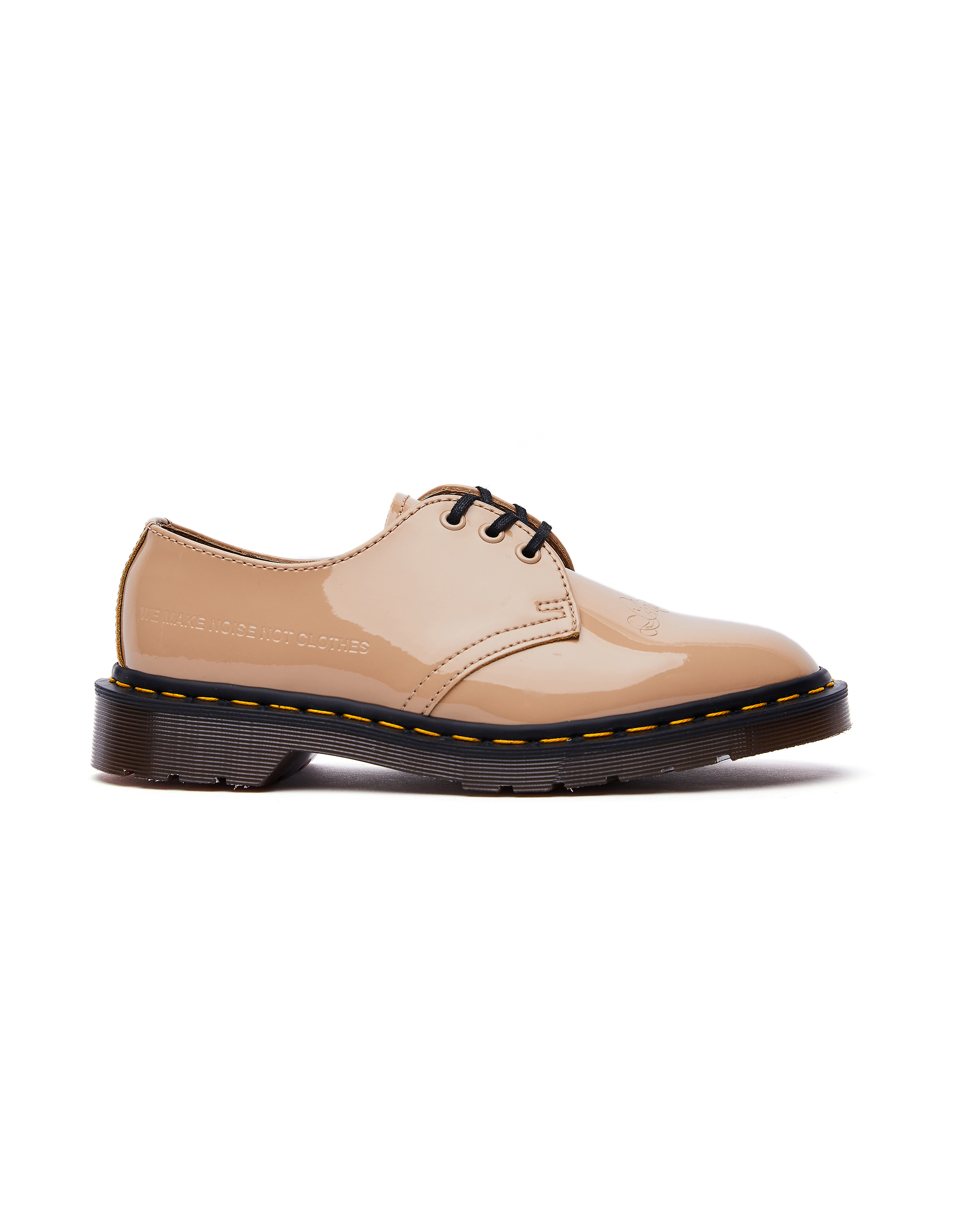 Undercover Dr.Martens Beige Patent Leather 1461 Boots