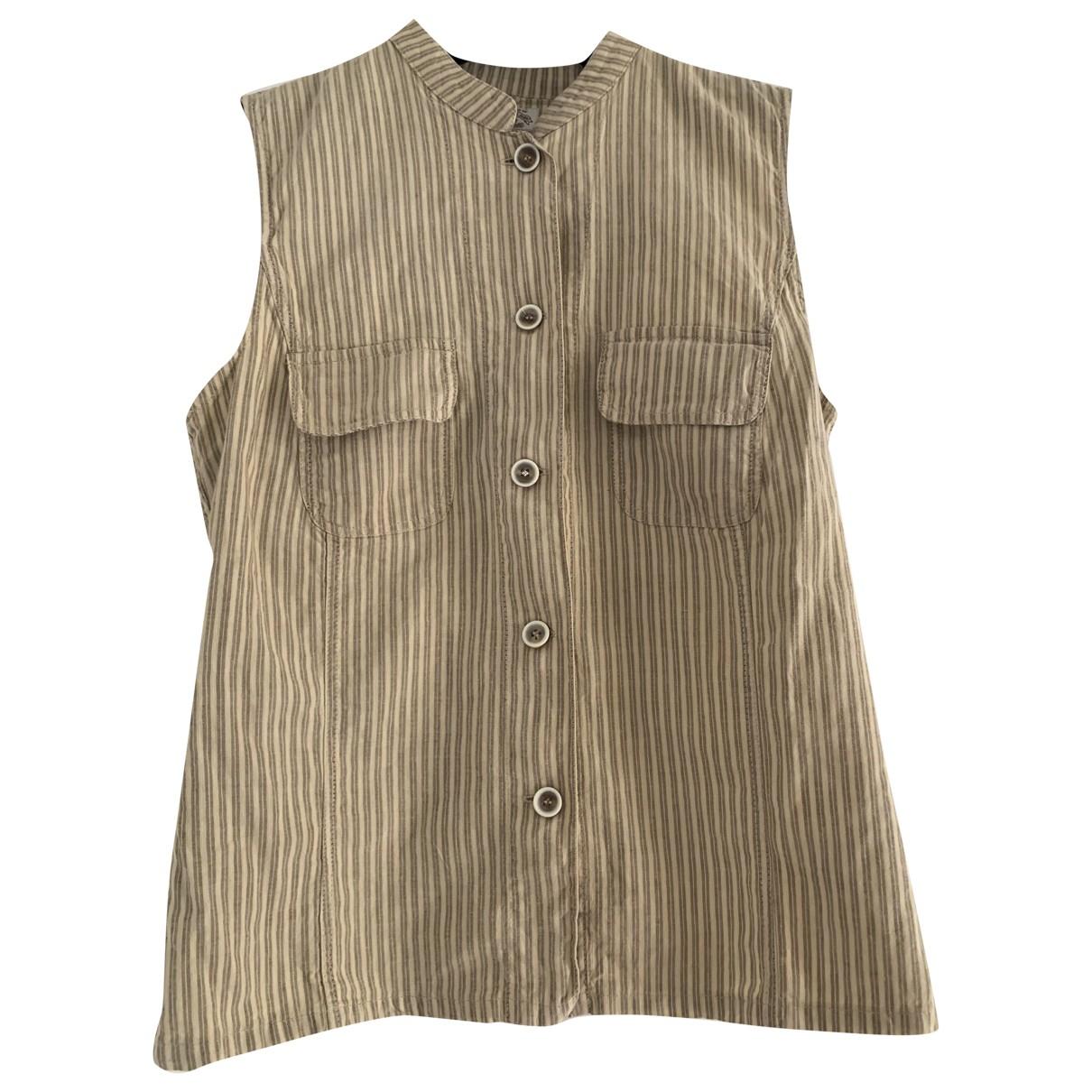 Camiseta sin mangas de Lino Emporio Armani
