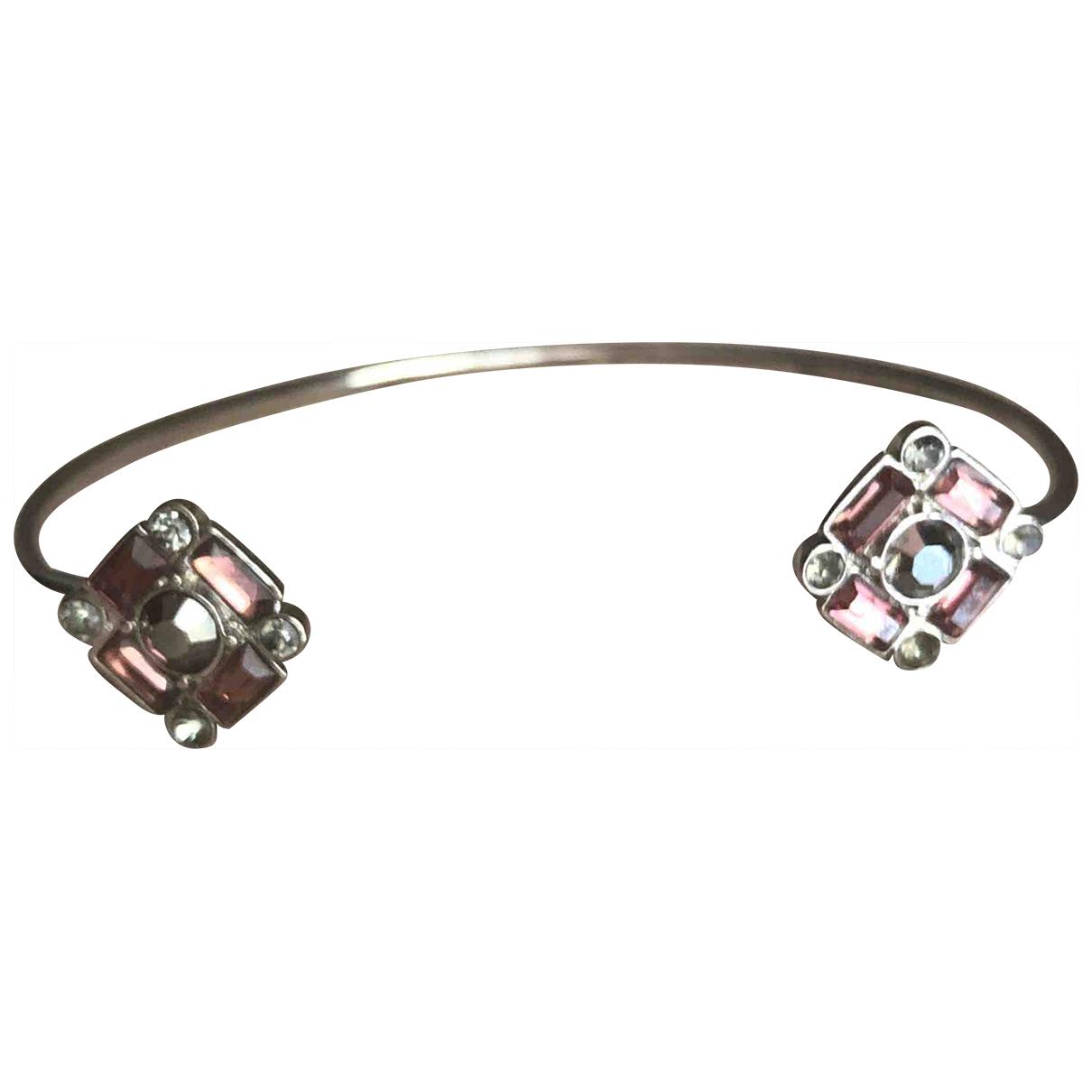 - Bracelet Jonc pour femme en metal - violet