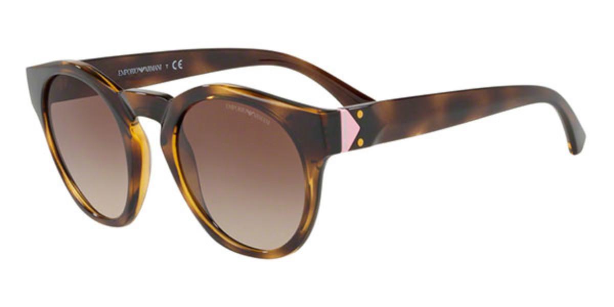 Emporio Armani EA4113 502613 Women's Sunglasses Tortoise Size 51