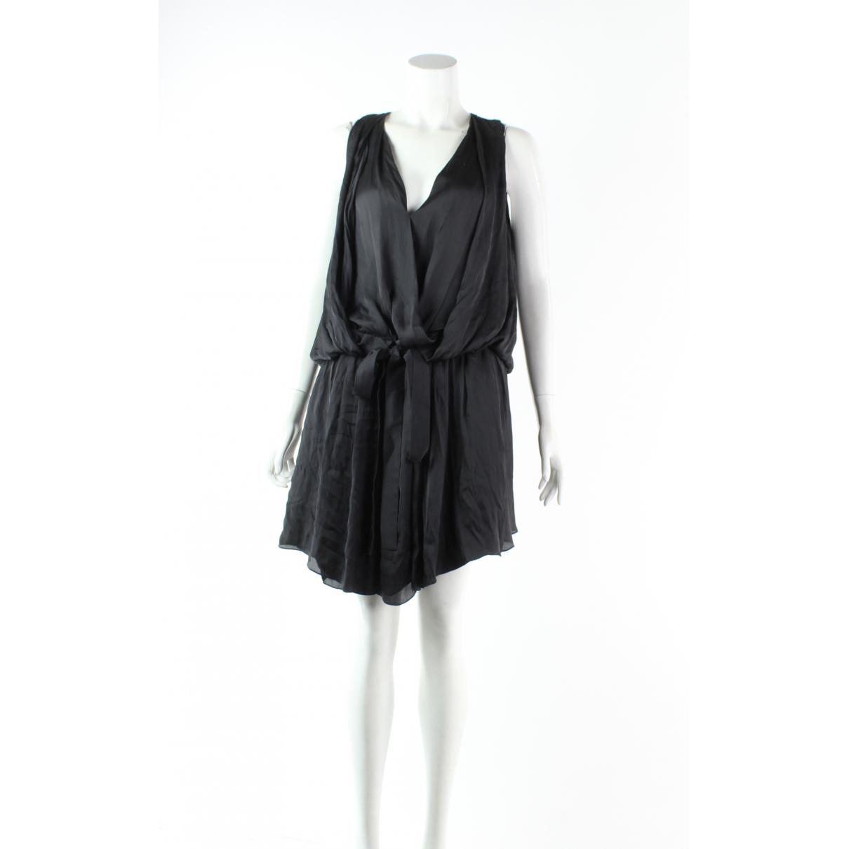Alexander Wang \N Kleid in  Schwarz Polyester