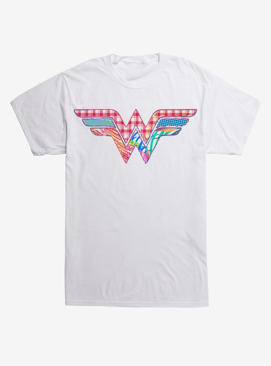 DC Comics Justice League Wonderwoman Logo T-Shirt
