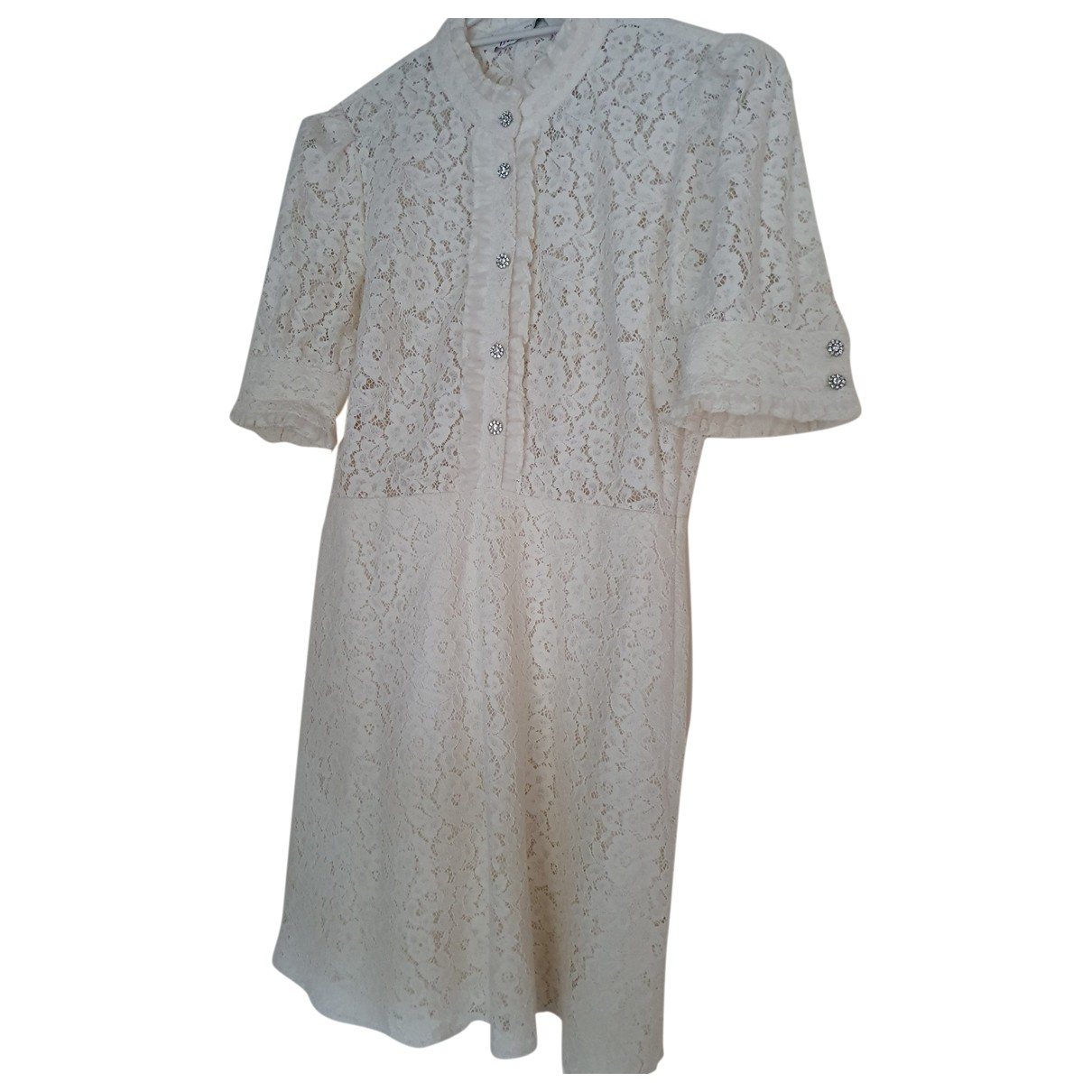 Zara \N Beige Cotton dress for Women S International