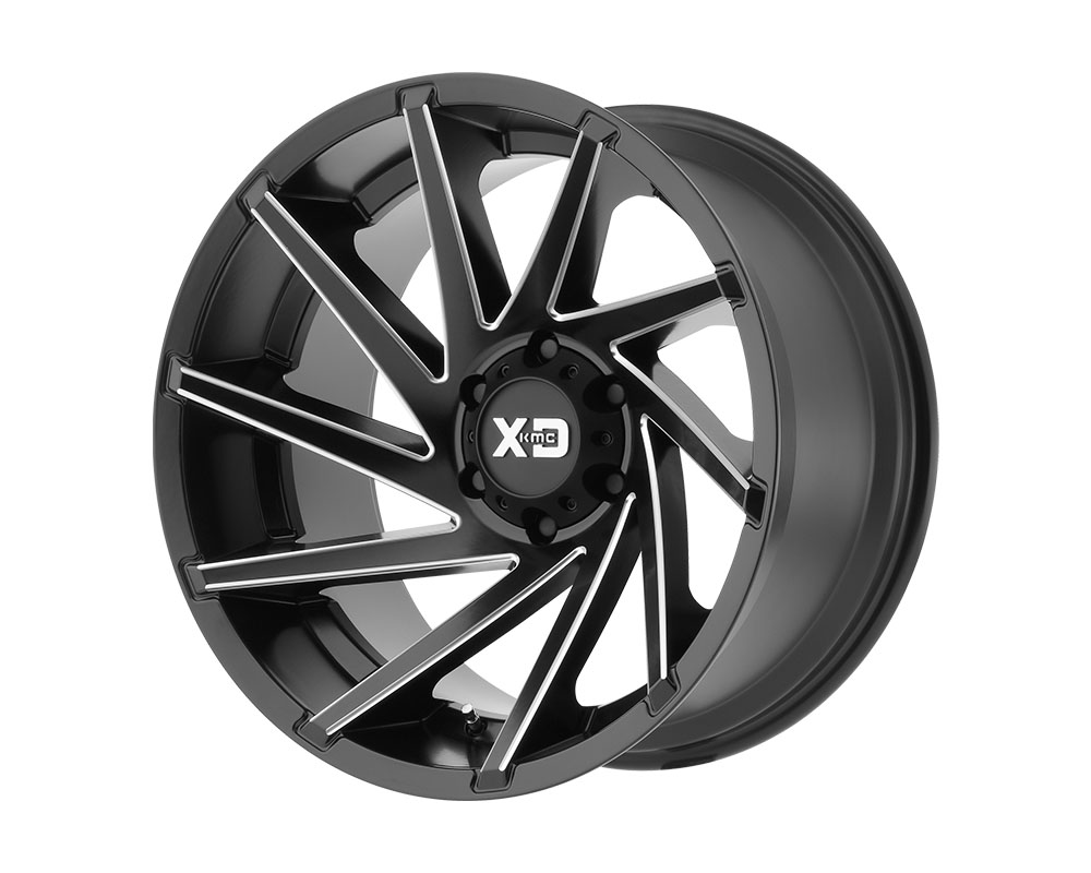 XD Series XD83421087918N XD834 Cyclone Wheel 20x10 8x8x170 -18mm Satin Black Milled