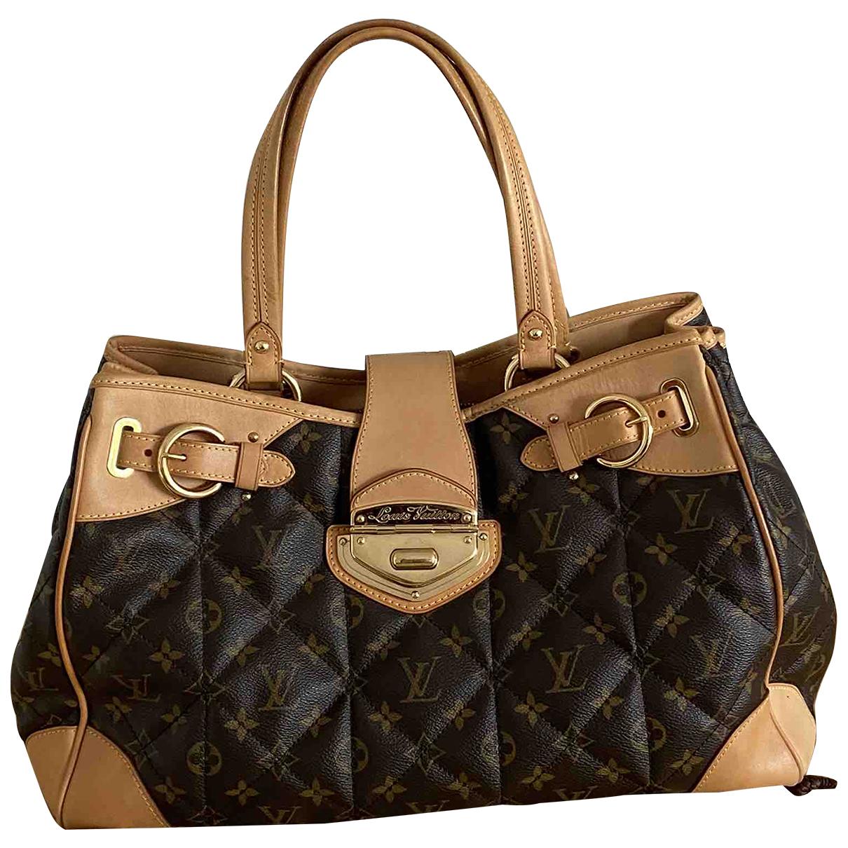 Louis Vuitton Etoile Shopper Brown Cloth handbag for Women N