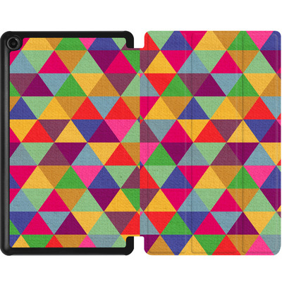 Amazon Fire 7 (2017) Tablet Smart Case - In Love With Triangles von Bianca Green