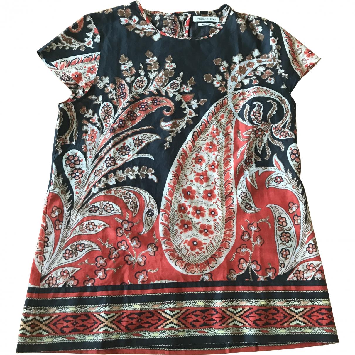 Isabel Marant Etoile \N Orange Cotton  top for Women 38 FR
