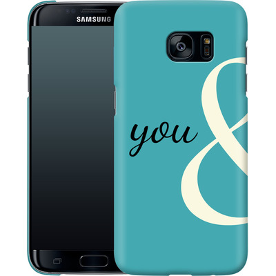 Samsung Galaxy S7 Edge Smartphone Huelle - You And von caseable Designs