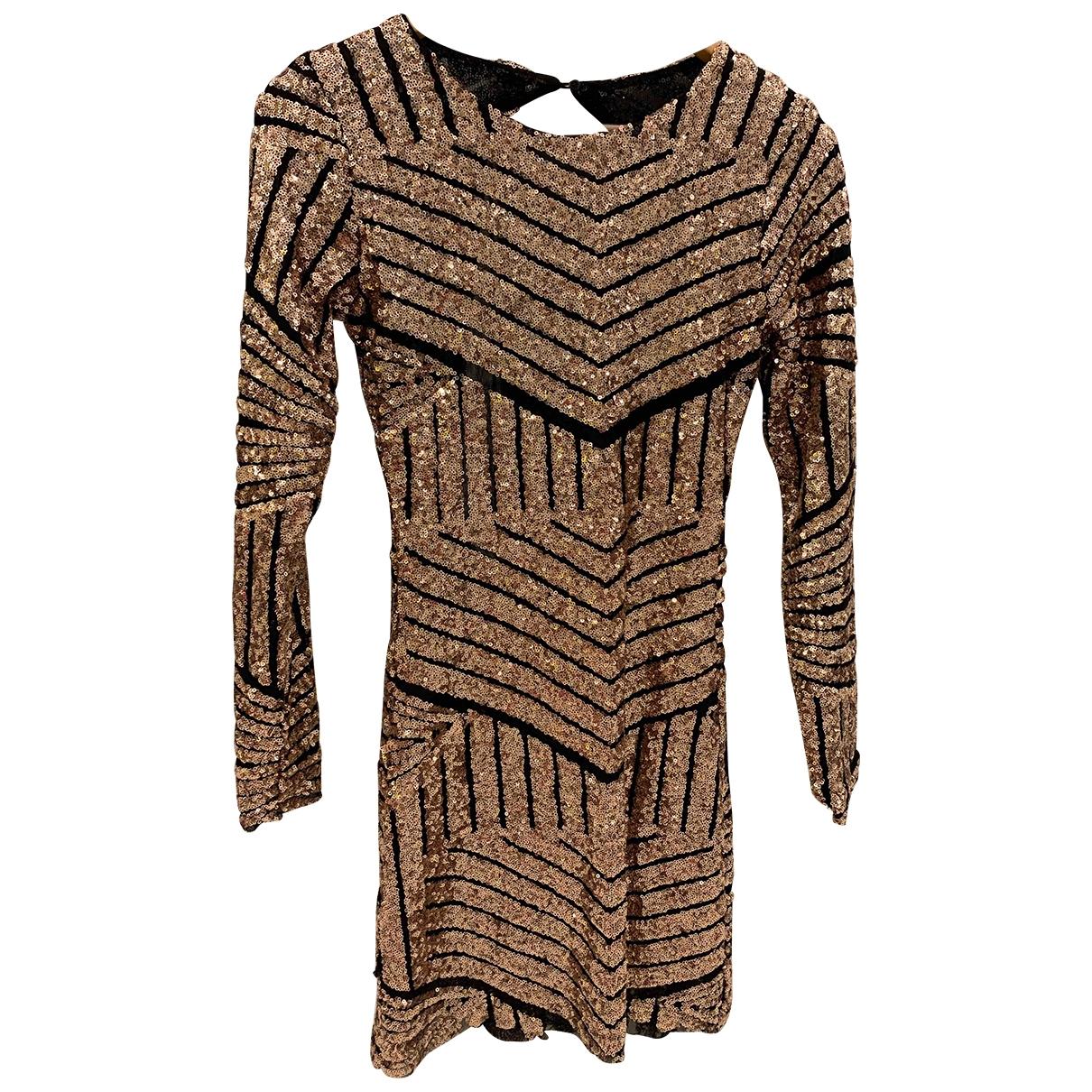 Zara - Robe   pour femme - dore