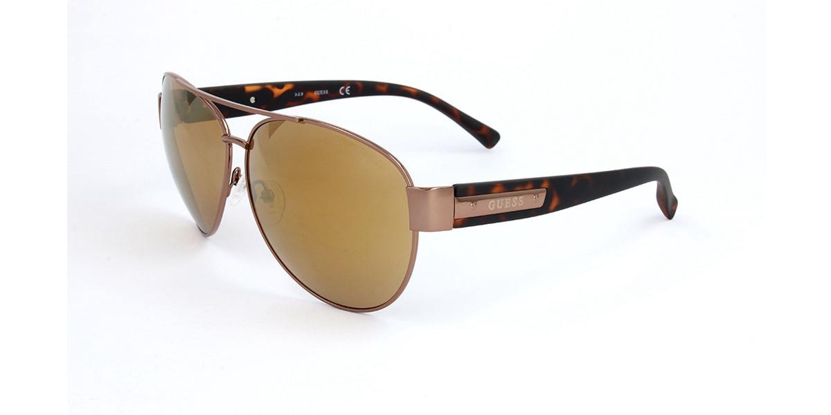 Guess GU 6830 45G Men's Sunglasses Brown Size 63