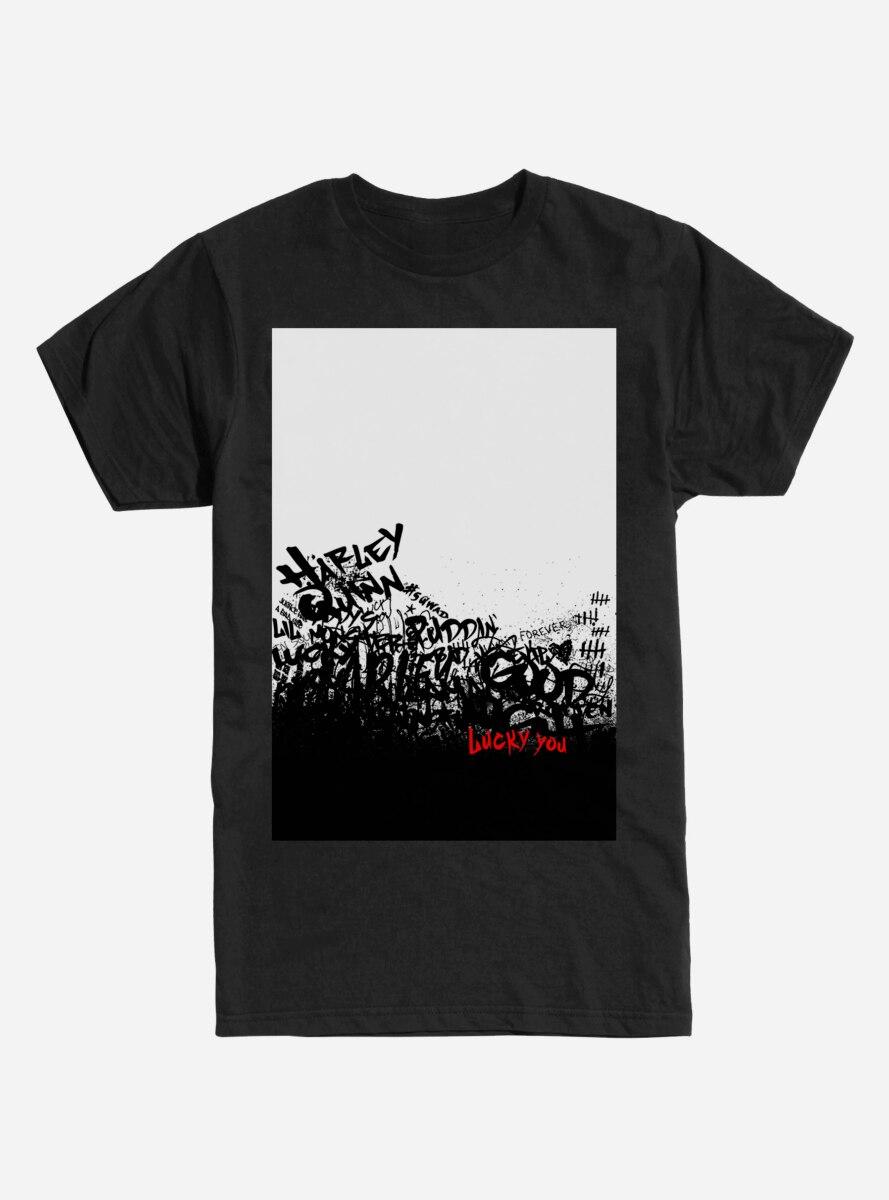 DC Comics Suicide Squad Harley Quinn Text T-Shirt