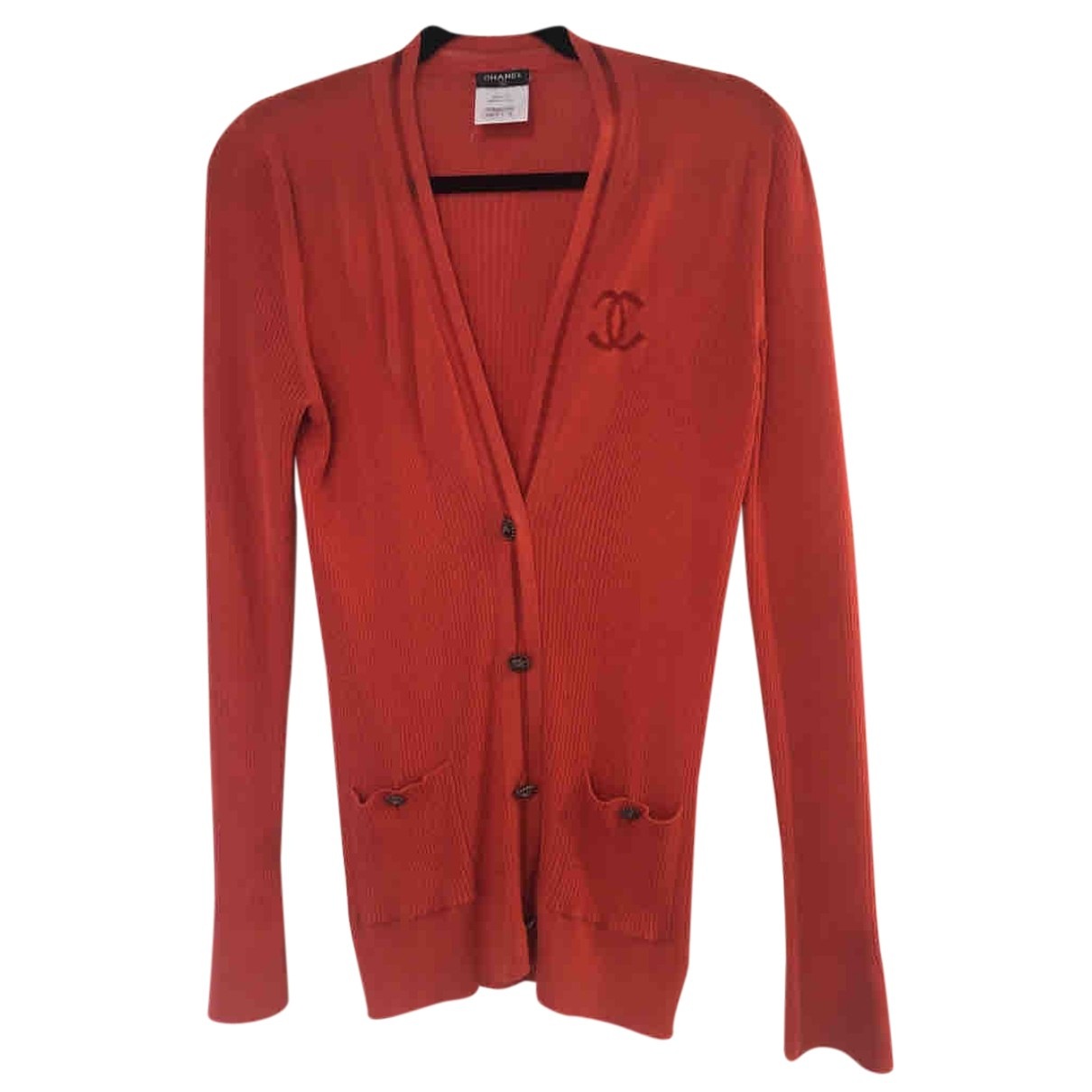 Chanel N Silk Knitwear for Women 40 FR