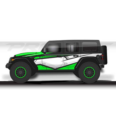 Proline Wraps JL Series Cliff Wrap (Green) - PLJL4-CLF-GRN