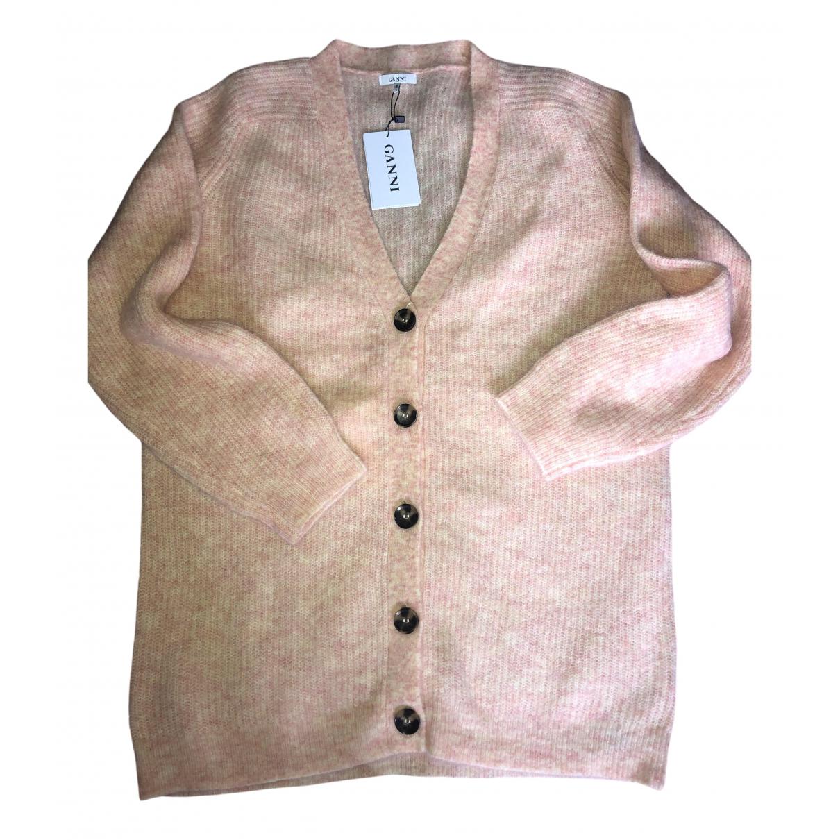 Ganni N Beige Wool Knitwear for Women L International