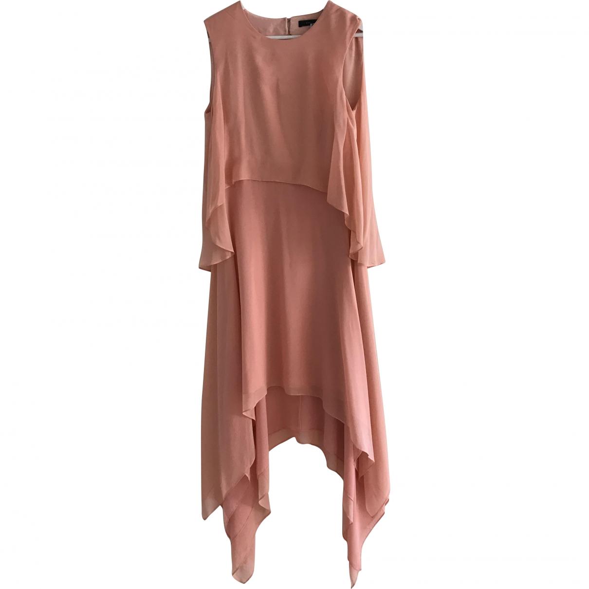Bcbg Max Azria \N Pink Silk dress for Women S International