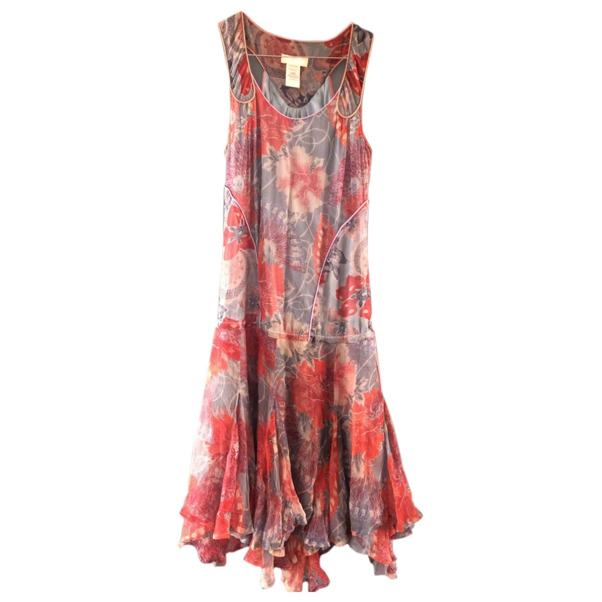 Diesel \N Green Silk dress for Women 38 FR