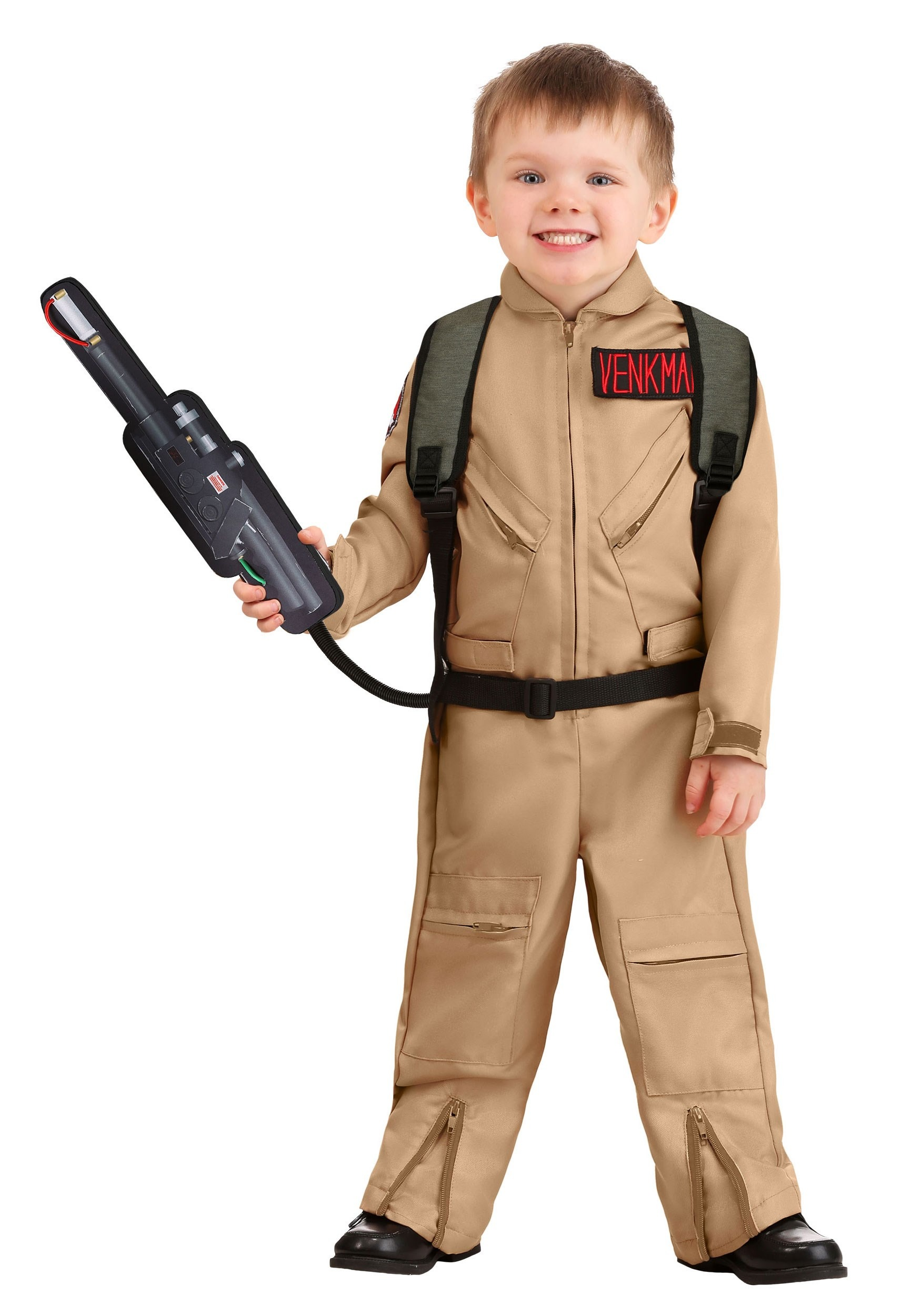 Toddler Ghostbusters Deluxe Costume