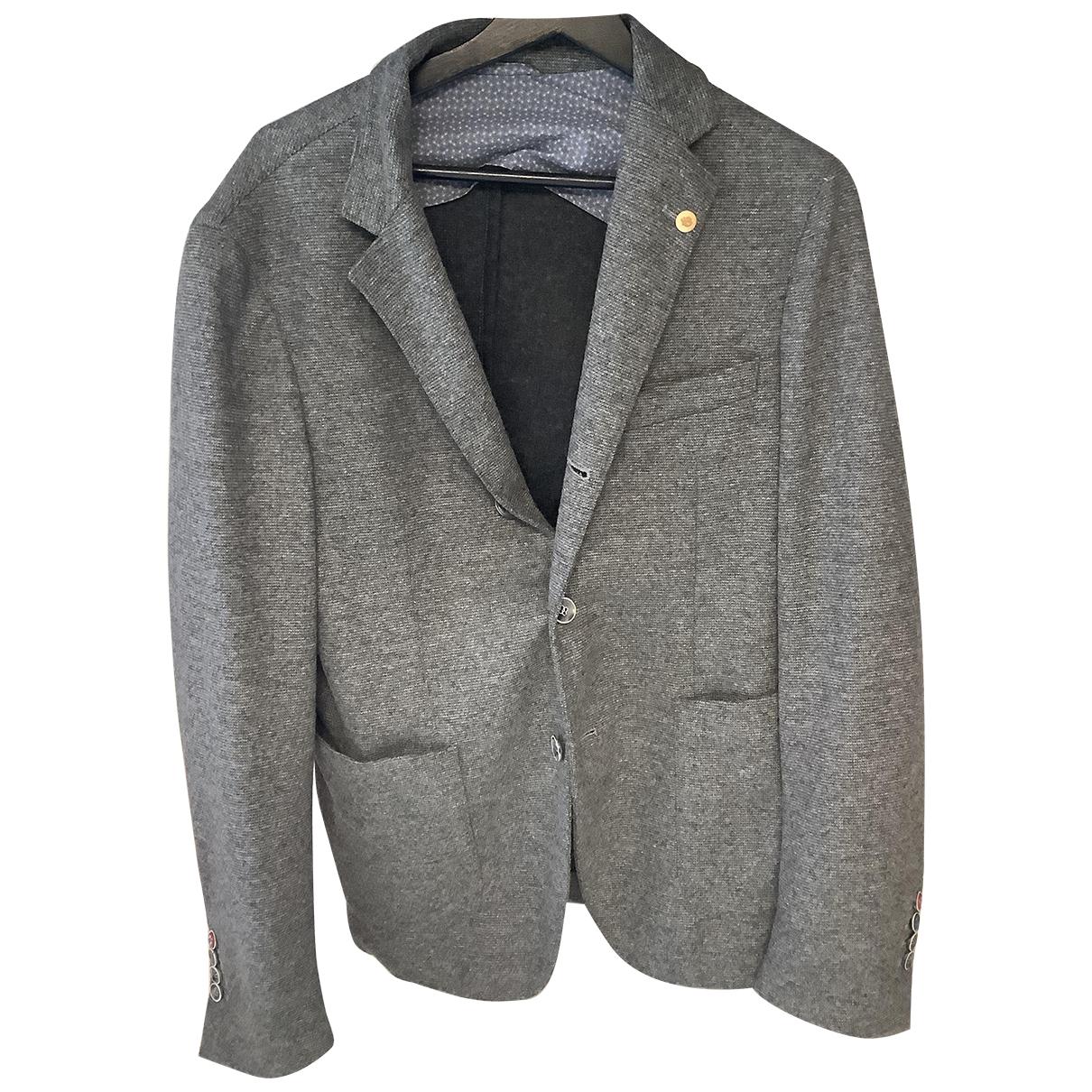 - Vestes.Blousons   pour homme en laine - gris