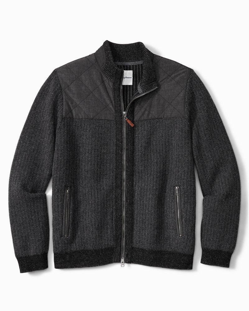 Big & Tall Summit Hybrid Full-Zip Jacket