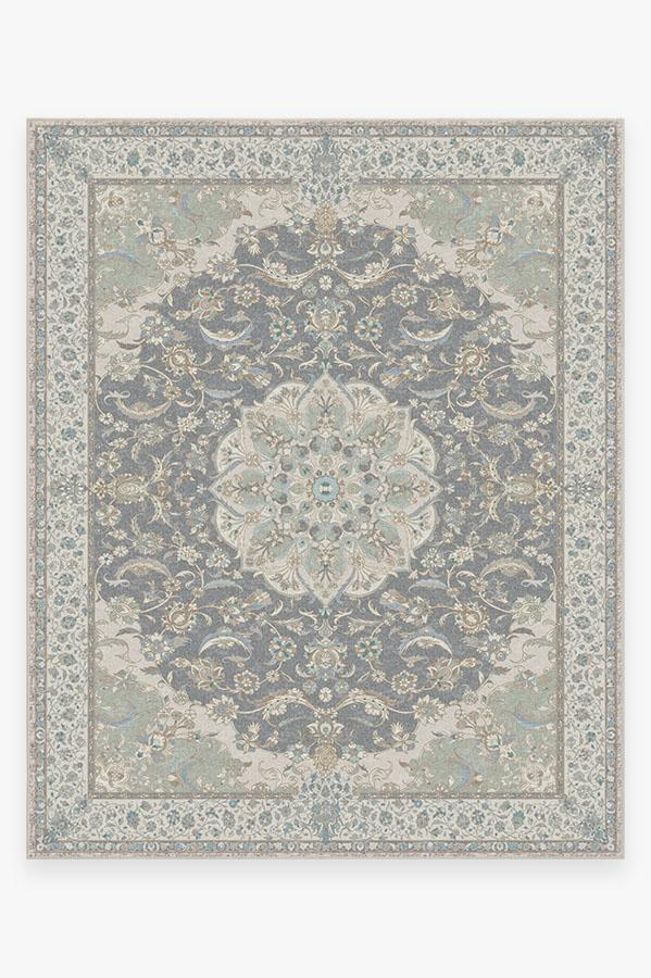 Washable Rug Cover & Pad | Sima Abalone Rug | Stain-Resistant | Ruggable | 8'x10'