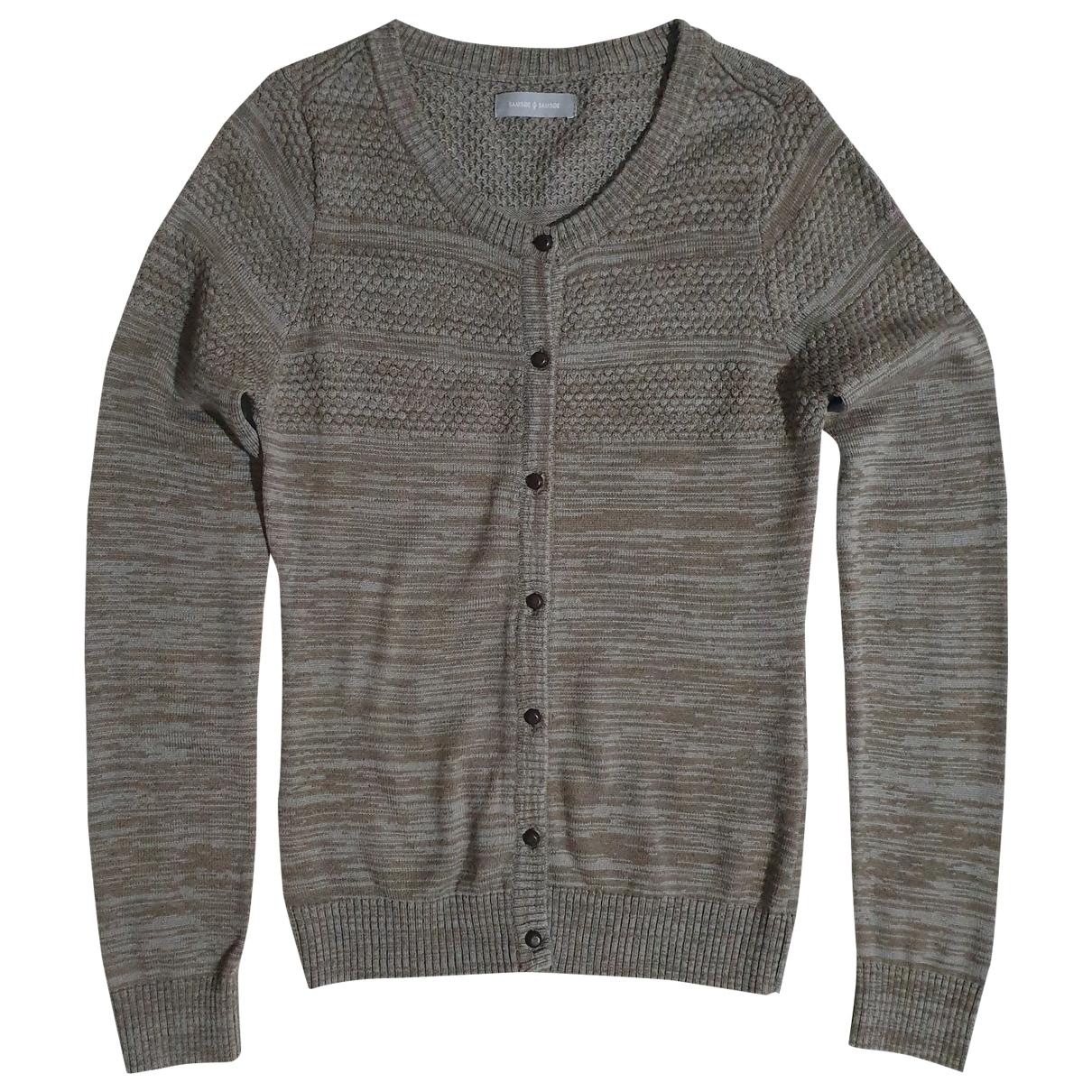 Samsoe & Samsoe - Pull   pour femme en laine - multicolore