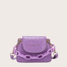 Mini Handtasche mit Kettengriff