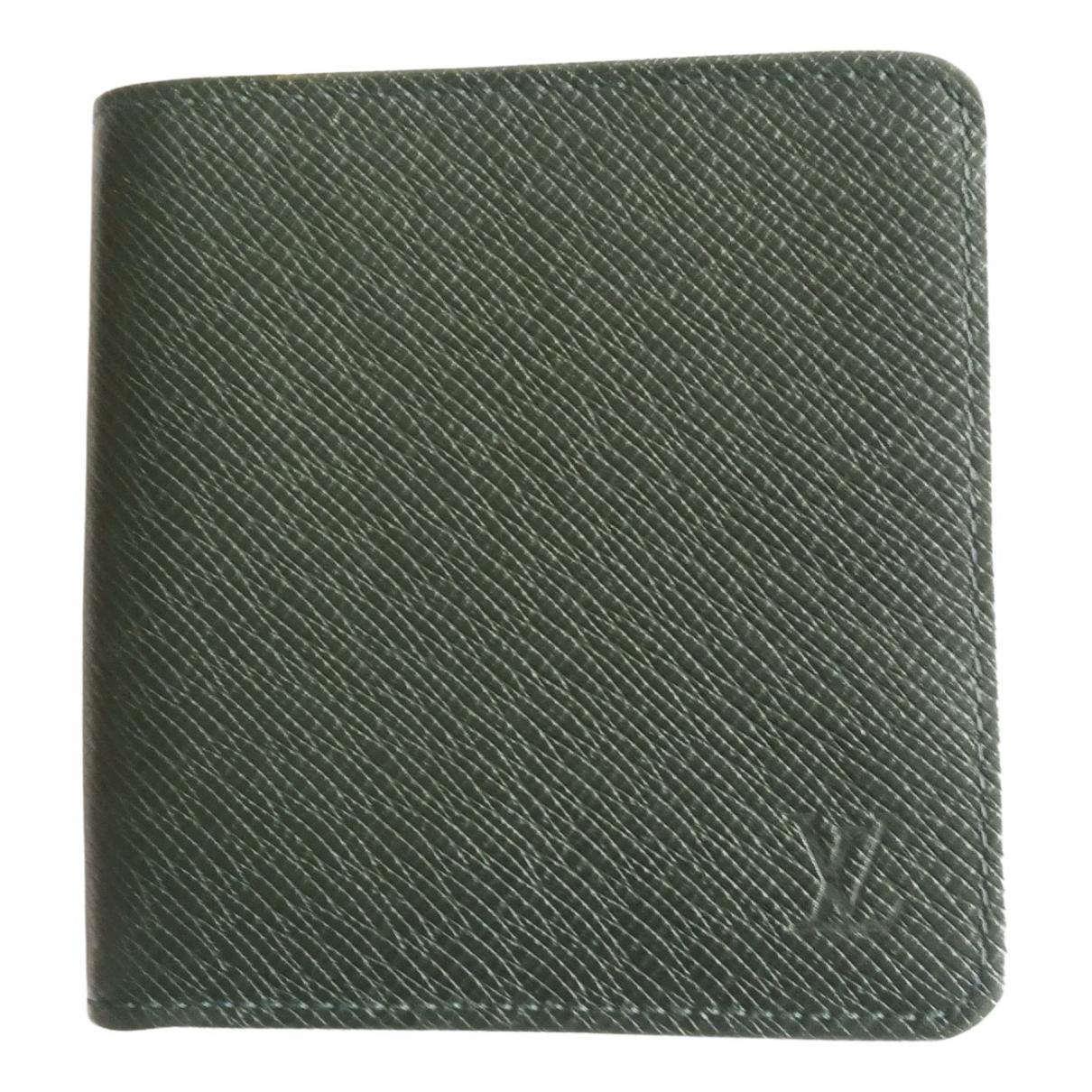 Louis Vuitton - Portefeuille Zippy pour femme en cuir - vert