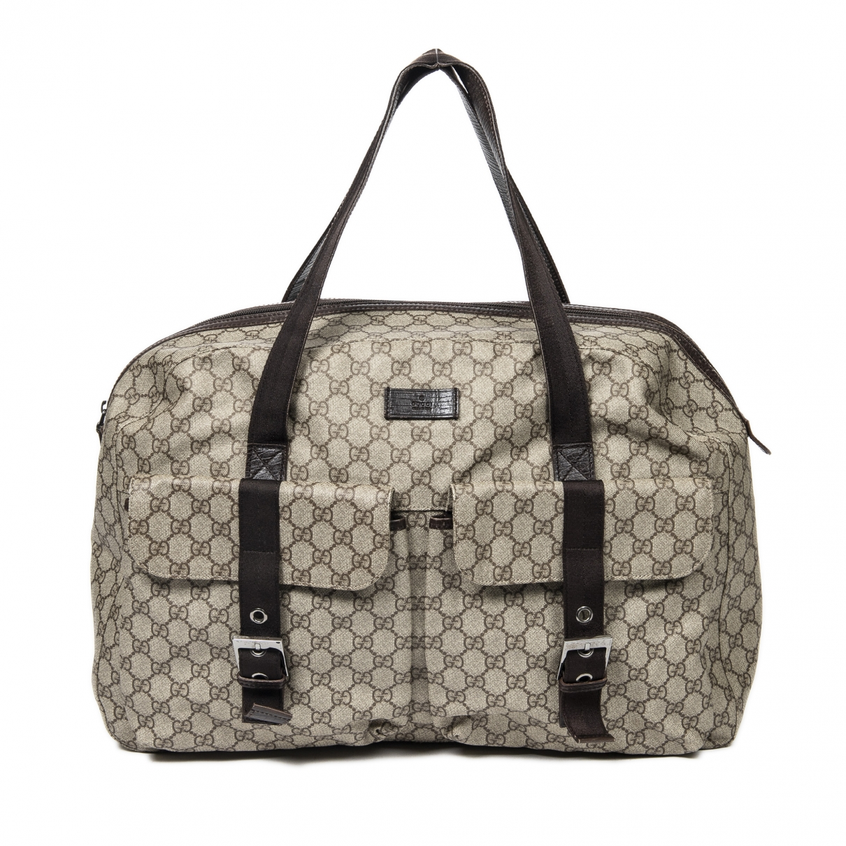 Gucci \N Brown Cotton Travel bag for Women \N