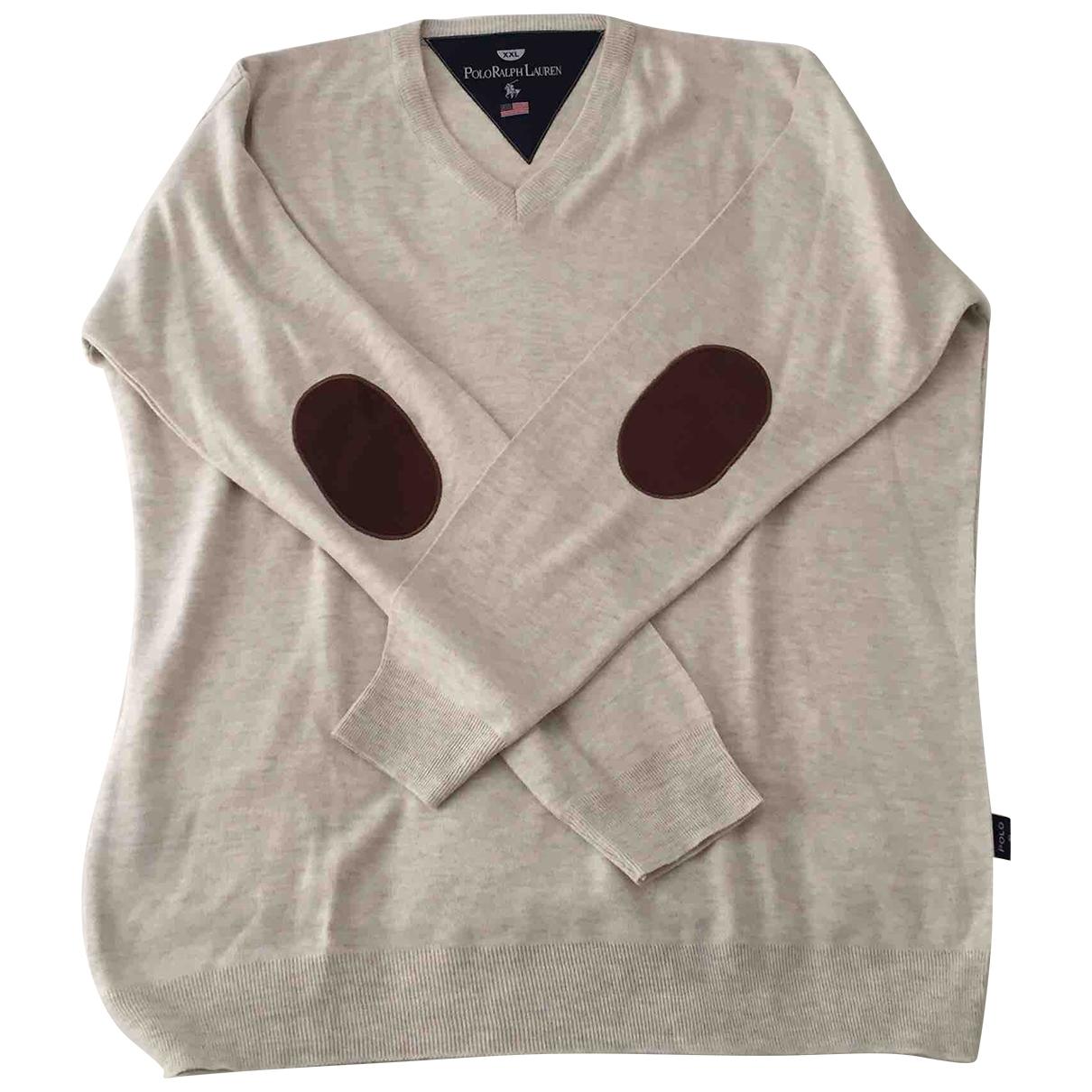 Polo Ralph Lauren \N Beige Cotton Knitwear & Sweatshirts for Men XXL International