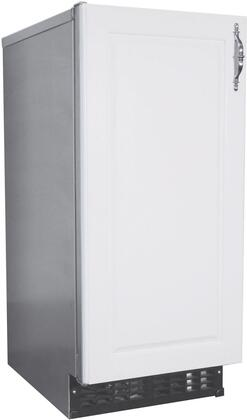 AM-50BAJ-ADDS 15 ADA Compliant Commercial Approved Self-Contained Cuber with Built-In Storage Bin  55 lbs. Daily Ice Production  22 lbs. Storage Bin
