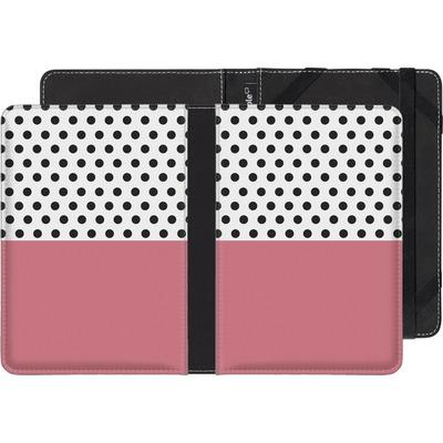 Kobo Glo eBook Reader Huelle - Coral Dots von caseable Designs