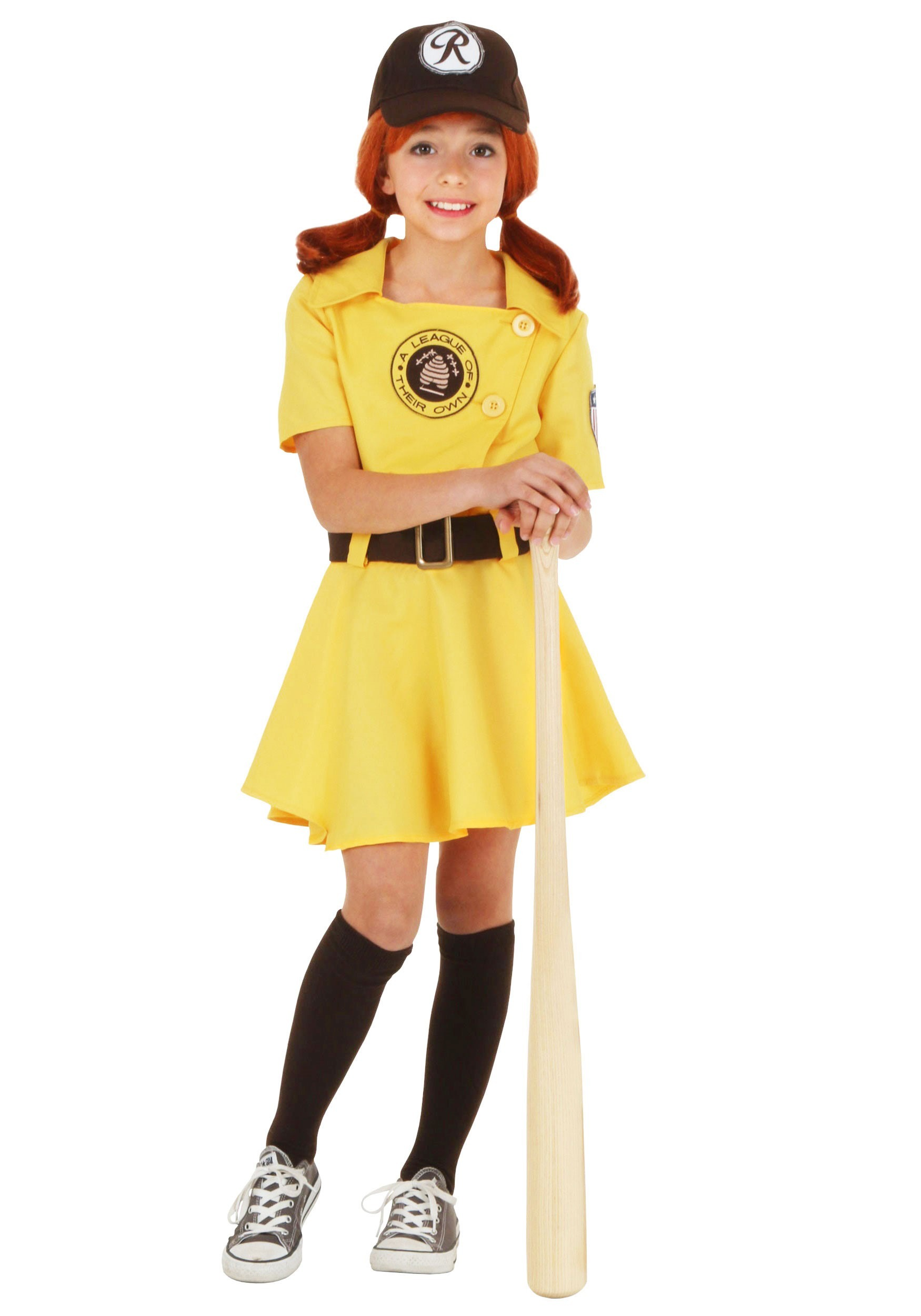 Girls A League of Their Own Kit Costume | Baseball Costume