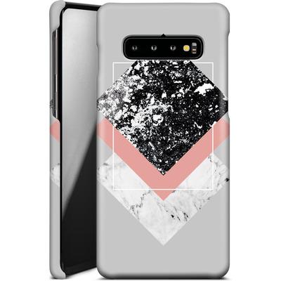 Samsung Galaxy S10 Plus Smartphone Huelle - Geometric Textures 1 von Mareike Bohmer