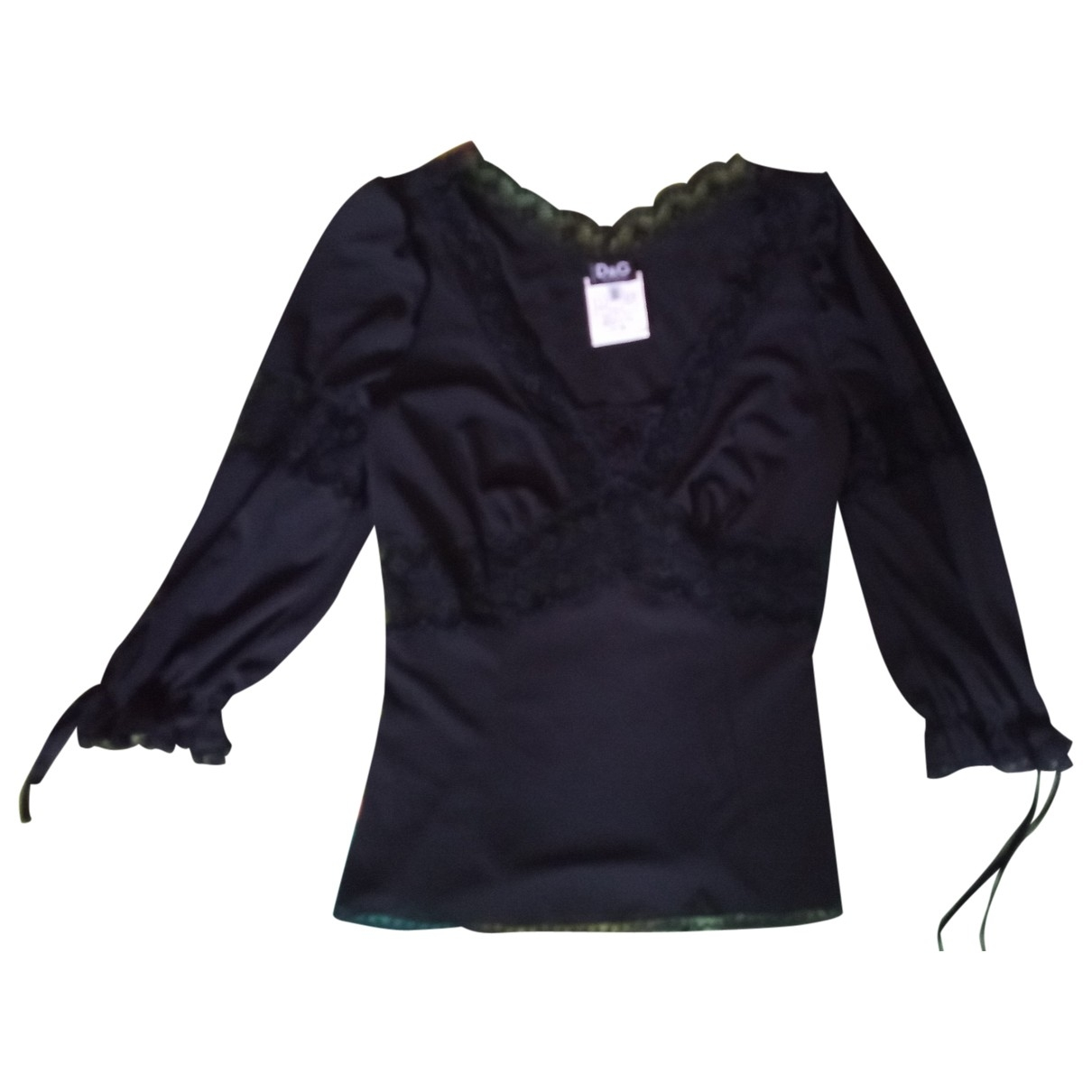 D&g \N Black  top for Women 40 IT