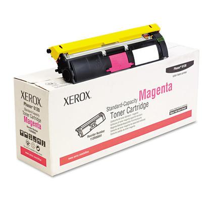 Xerox 113R00691 cartouche de toner originale magenta pour l'imprimante Phaser 6120