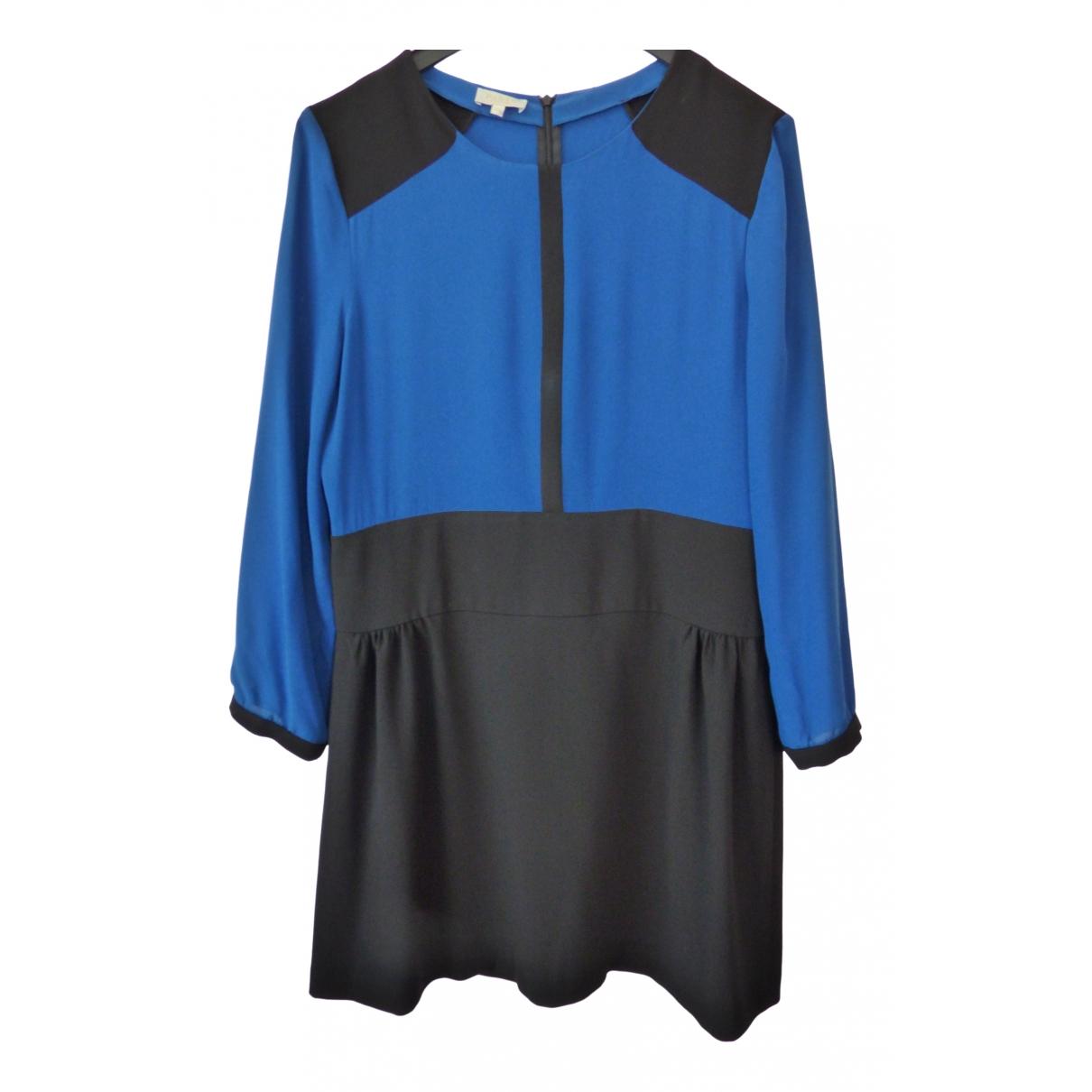 Pablo \N Kleid in  Blau Seide