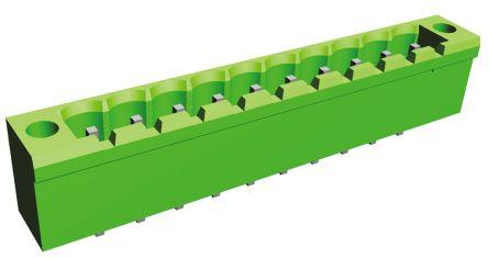 TE Connectivity , Buchanan, 10 Way, 1 Row, Straight PCB Header