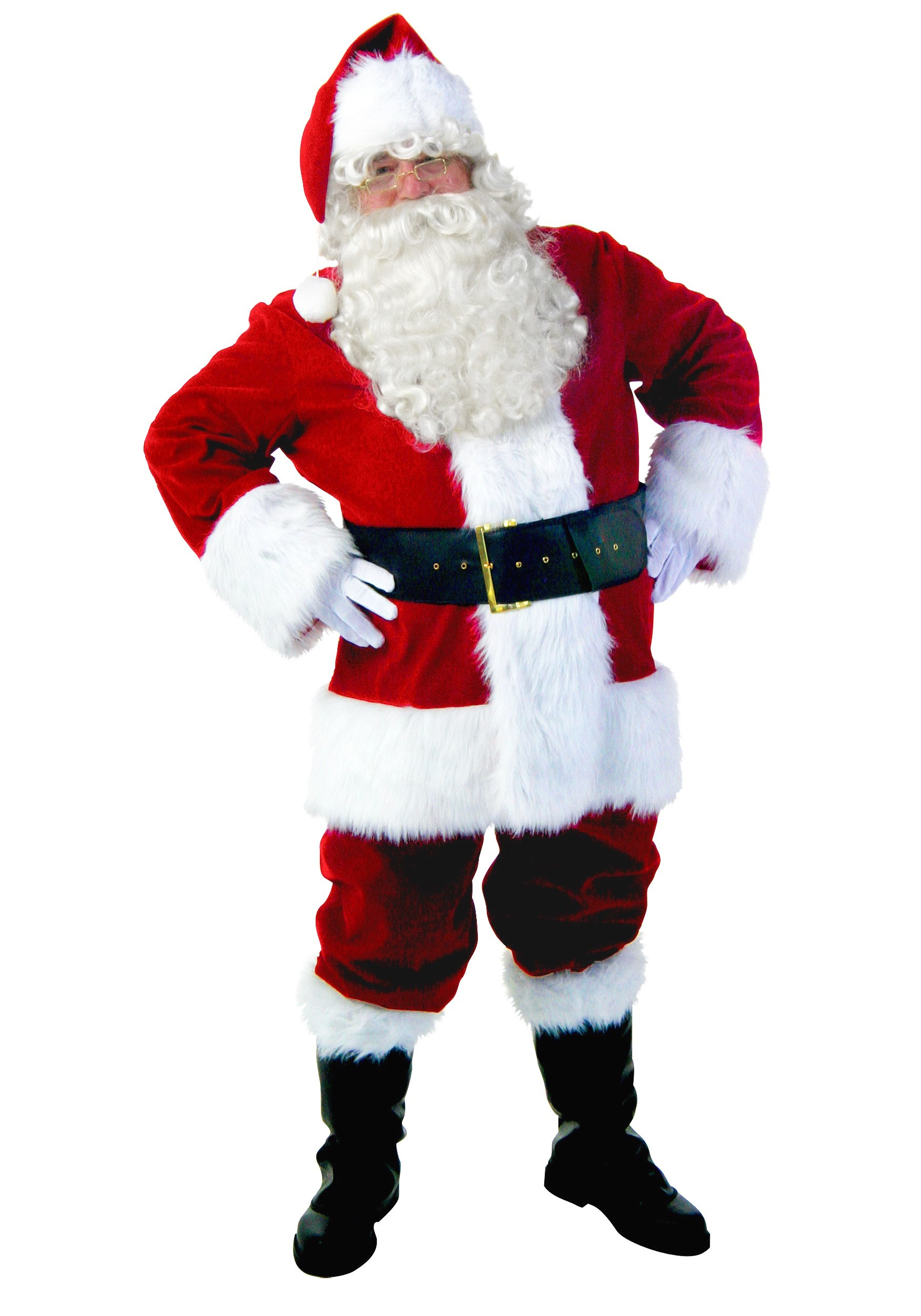Plus Size Premium Santa Suit Costume for Adults