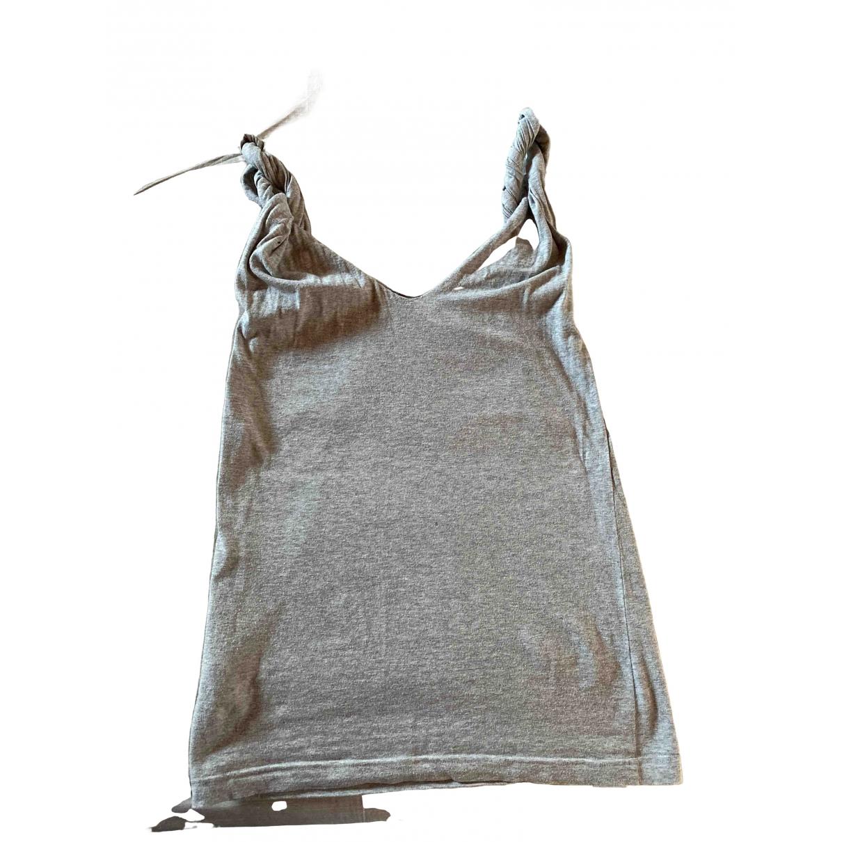 Aspesi - Top   pour femme en coton - gris