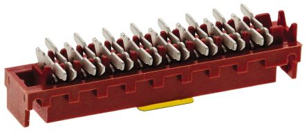 TE Connectivity , Micro-MaTch 2.54mm Pitch 16 Way 2 Row Straight PCB Socket, Surface Mount, Solder Termination (5)