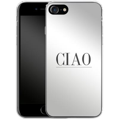 Apple iPhone 8 Silikon Handyhuelle - Just CIAO! von Erik Scholz